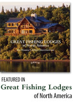 Alaska Boardwalk Lodge featured in Great Fishing Lodges of North America