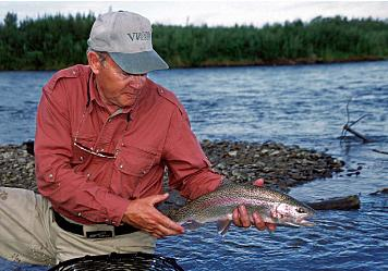 King Montgomery releases small rainbow
