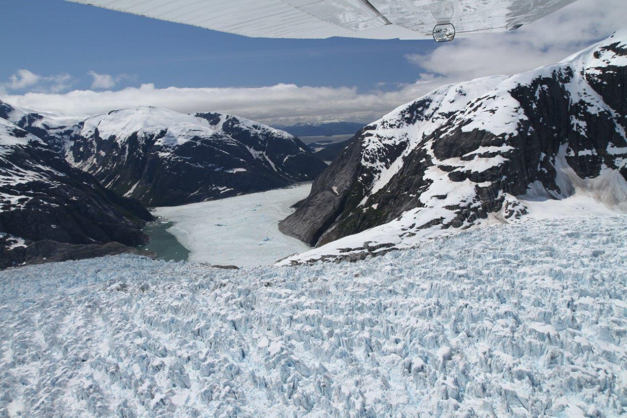 Entrance to the LeConte Bay Glacier