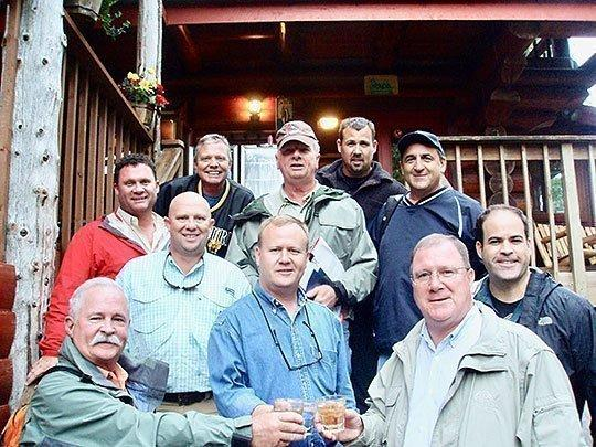 Lodge hosts large corporate group
