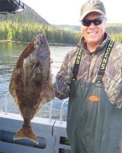 Halibut Fishing in Southeast Alaska