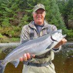 Coho Salmon fishing (aka Silver Salmon) in Southeast Alaska