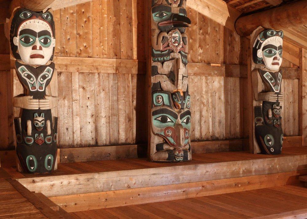Chief Son-I-Hat Whale House Kasaan Alaska