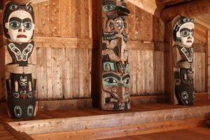 Chief Son I Hat whale house in Kasaan, Alaska