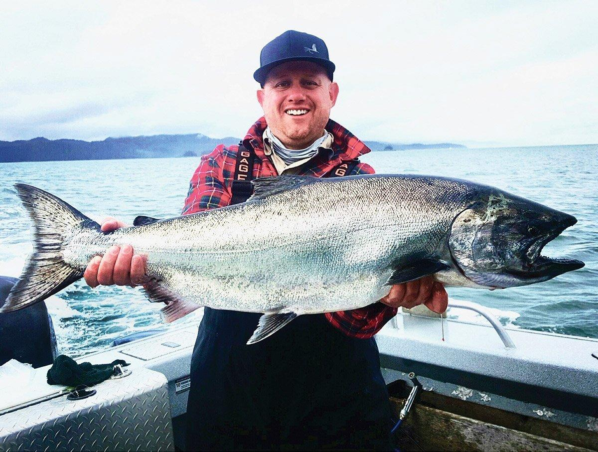 Guest Russ Andrus Alaska King Salmon fishing