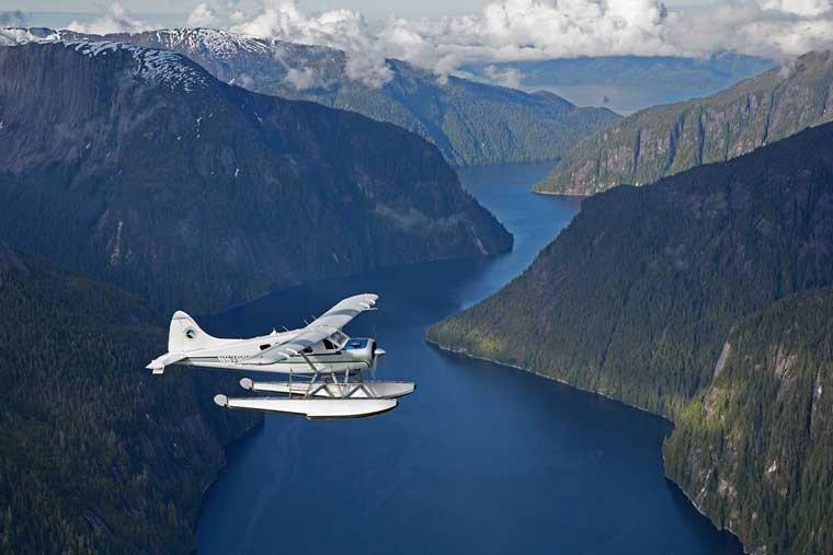 Plane flightseeing Alaska Misty Fjords National Monument