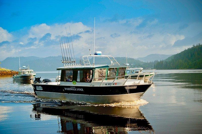 Boat captains lead saltwater fishing charters around Southeast Alaska