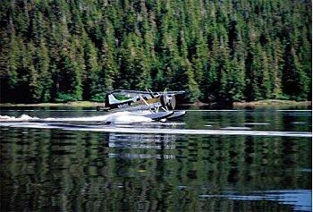 Sea planes to Prince of Wales Island are only 33 minutes for Ketchikan, Alaska