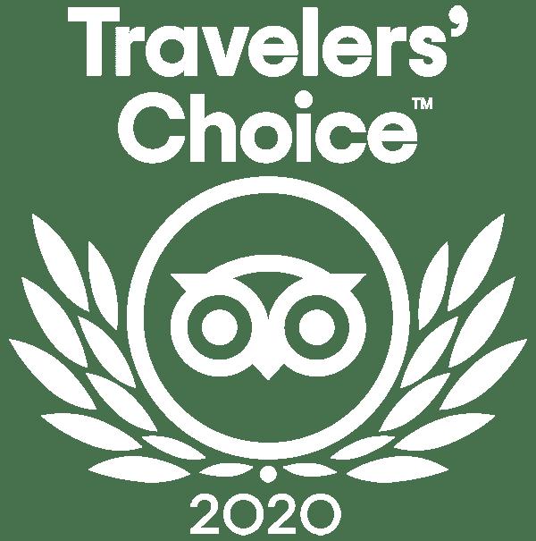 2020 Tripadvisor Traveler's Choice award