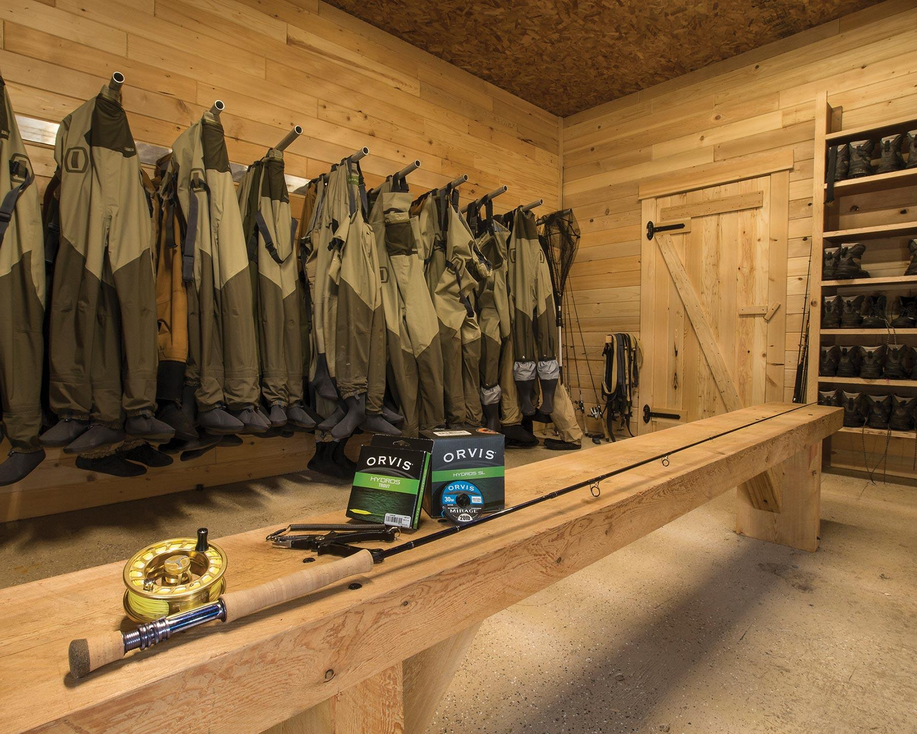 All fishing gear and tackle is all-inclusive to your trip.