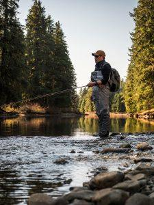 Lodge fishing manager and head guide Jay Mar